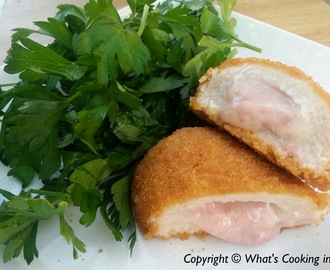 Stuffed Chicken Cordon Bleu
