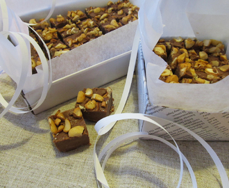 Makeaa Joulun odotusta – Chocolate Fudge with Nuts