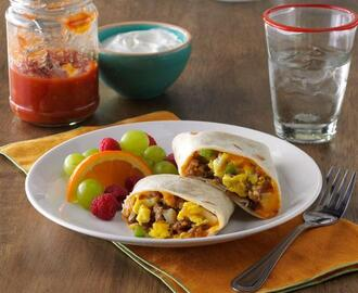 Make-Ahead Breakfast Burritos Recipe