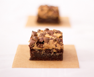 Gluten Free Chocolate & Peanut Butter Brownies