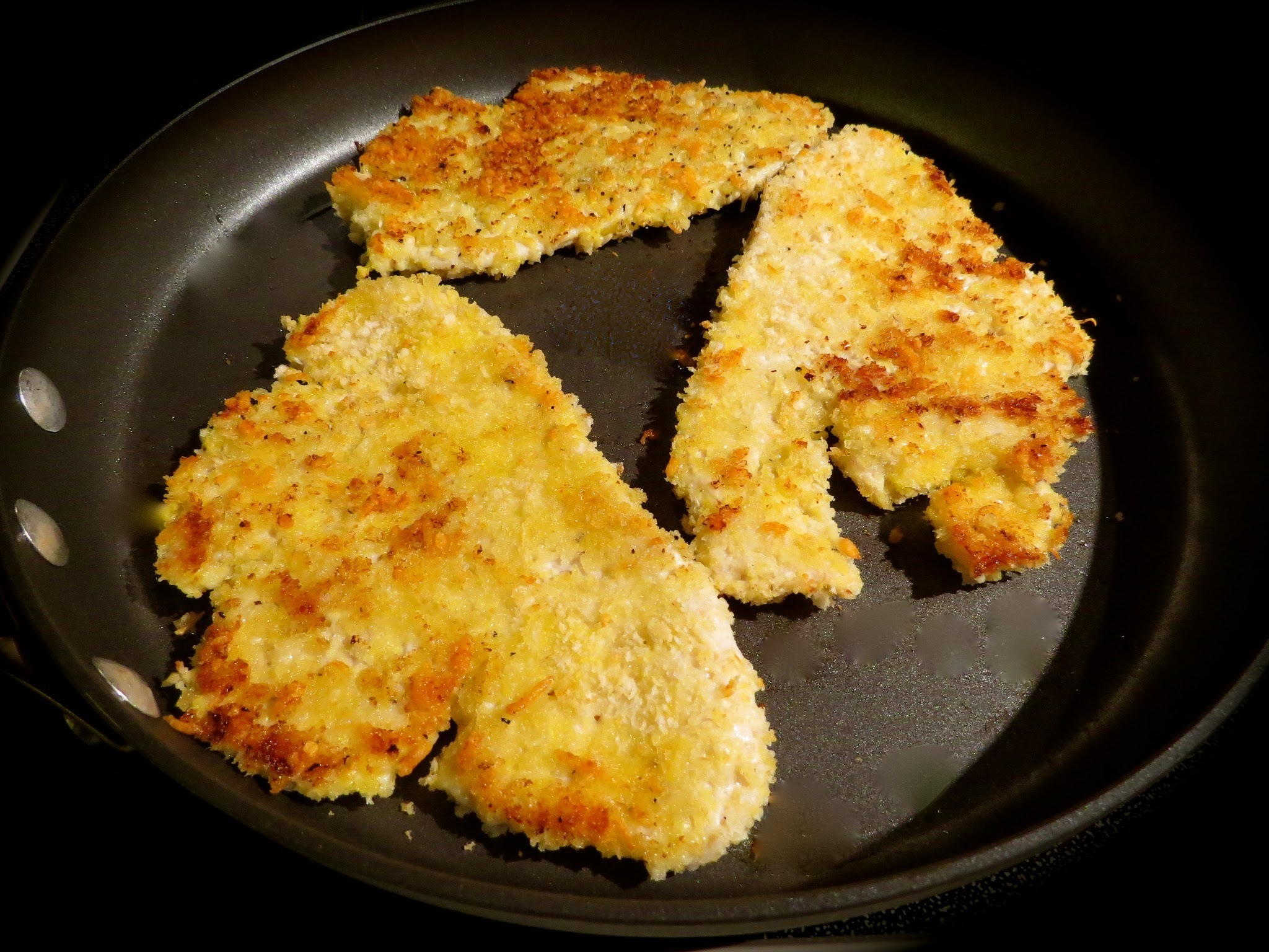 Rachael Ray's Parmesan Crusted Turkey Cutlets