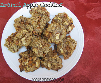 Fill the Cookie Jar: Caramel Apple Cookies