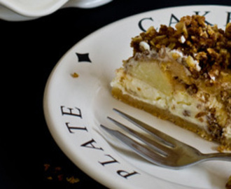 Speculaas appel cheesecake