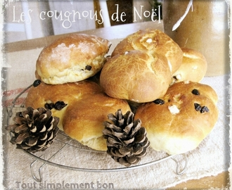 Battle food # 26 . Les cougnous de Noël
