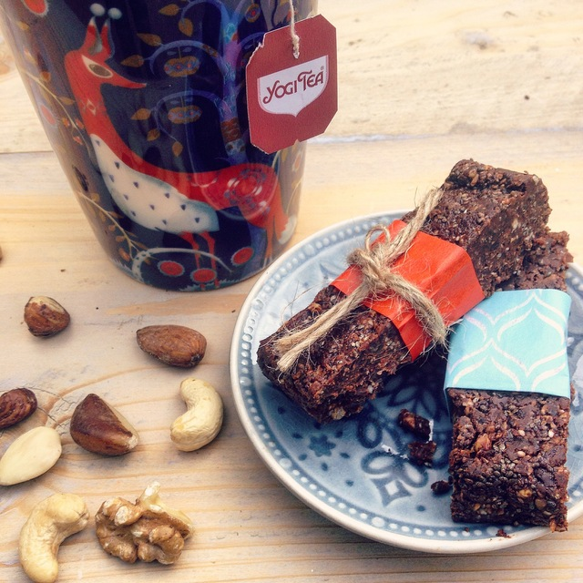 Chocolade noten repen – Detox snack!