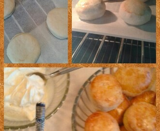 Scones en clotted cream