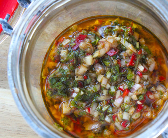 Chimichurri recept
