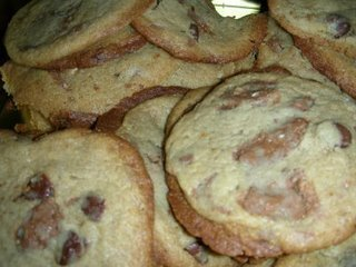 Toblerone chip cookies