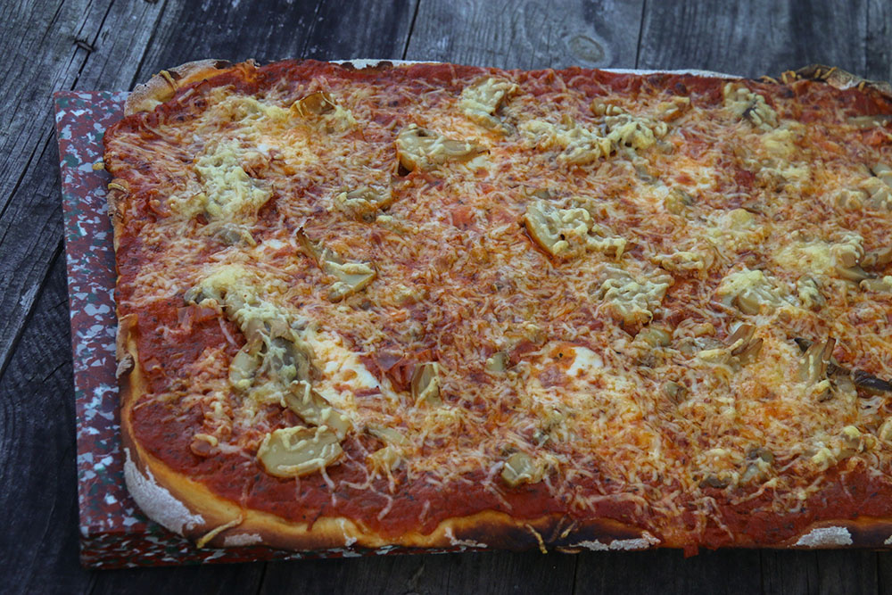 Pizza reine (au Thermomix ou sans)