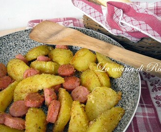 Patate e wurstel sabbiosi / potatoes and wurstel