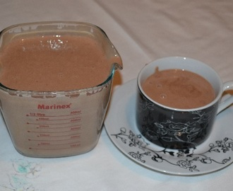 Chocolate Quente Cremoso com 3 Ingredientes