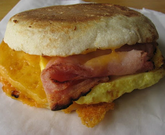 Egg and Cheese English Muffin!