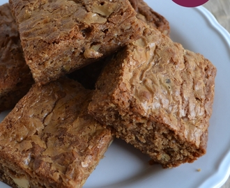 Foodblogswap: Sinterklaasblondies (witte chocolade brownies)