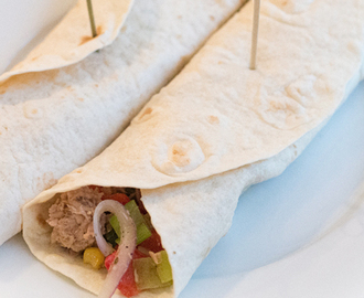 Recept: Tonijn Mozzarella Wrap