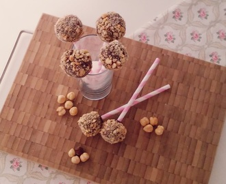 Nutella praline lollies