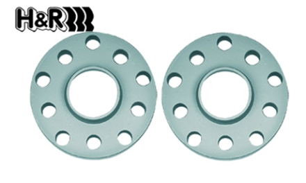 H&R 6mm spacers - Mazda 3 BL, Bultmönster: 114,3/5 & Navstorlek: 67,1mm