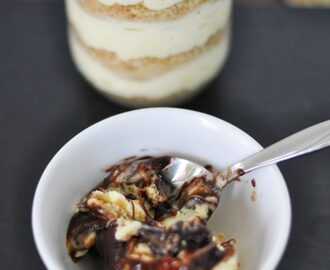 Mason Jar Fever: Chocolate Eclair Cake in a Jar