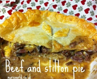 Beef and Stilton Pie #GBBO week 4