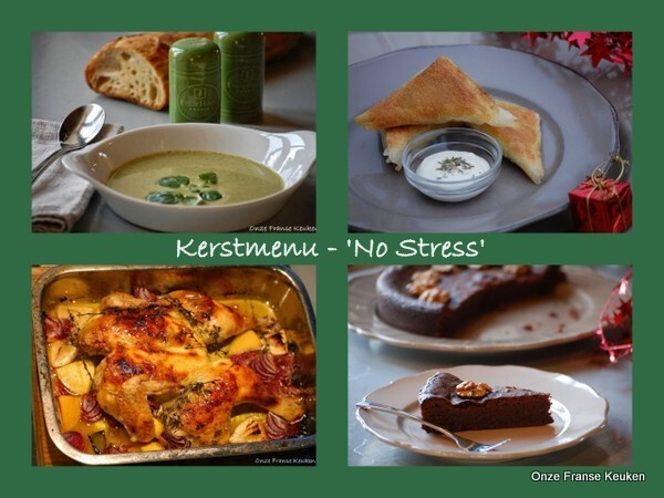 Kerstmenu - 'No Stress'