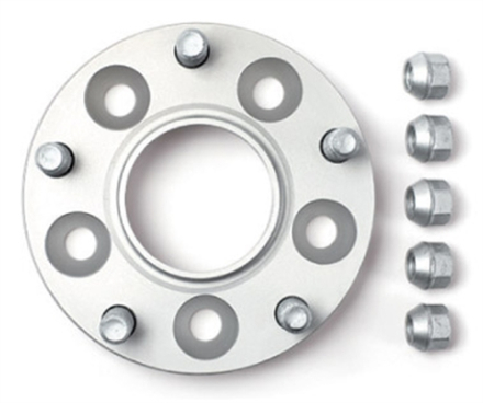 H&R 25mm spacers - Corvette Corvette C6 GMX-245, Bultmönster: 120,65/5 & Navstorlek: 70,2mm