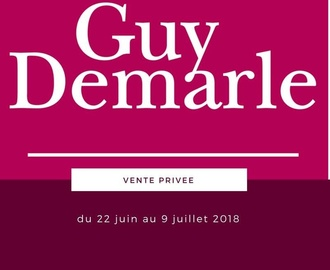 VENTES PRIVEES GUY DEMARLE