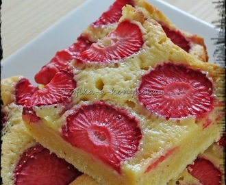 Epres blondie / Strawberry blondie