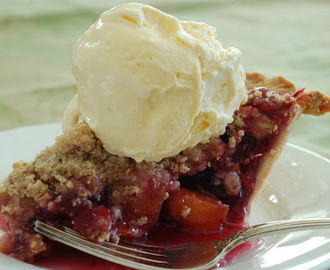Cranberry Peach Pie