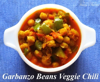 Garbanzo Beans / Chickpeas / Kabuli Channa Vegetarian Chili