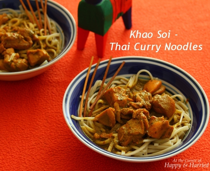 Khao Soi – Thai Noodles With Spicy Chicken Curry Sauce