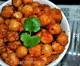 Hot Chilli Chickpeas in 5