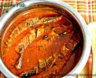 Simple Mangalore Style Fish Curry without Coconut