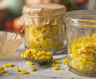 How To Make Your Own Sweetcorn Relish