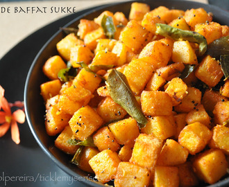 Oven Roasted Swede with Mangalore Baffat powder- Nativity Day Special