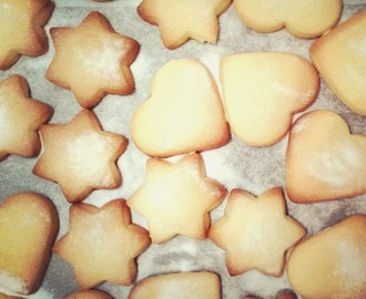 Christmas treat #2 - buttery shortbread