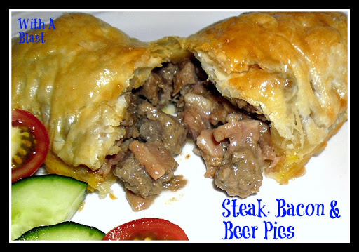 Steak, Bacon & Beer Pies