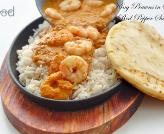 King Prawns in Spicy Red Pepper Sauce