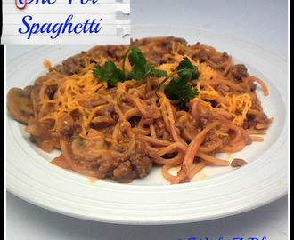 One-Pot Beef Spaghetti