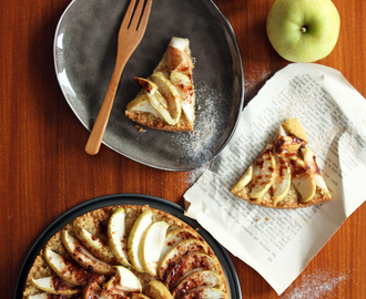 Easy vegan apple pie