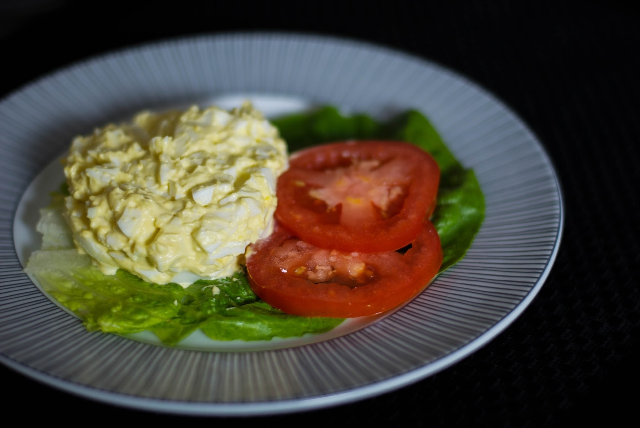 Wasabi Egg Salad and My Easter Menu