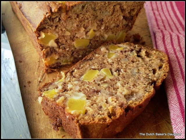 Coconut-Mango Banana Bread