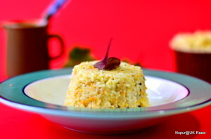Curd Rice – Not so runny version …