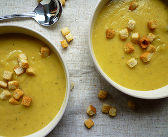 * Celeriac and Carrot Soup