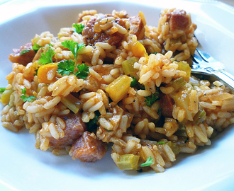 * Spicy Chicken Jambalaya