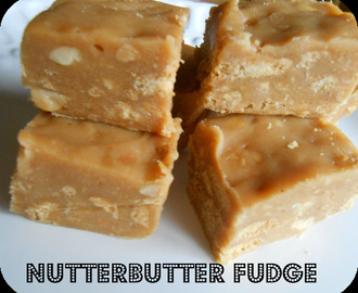 Nutterbutter Fudge {Microwave}