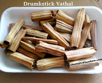Drumstick Vathal / Murungakkai Vathal | Vathal and Vadam Recipes