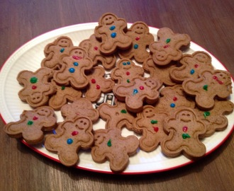 My happy kids: Gingerbreadmen cookies