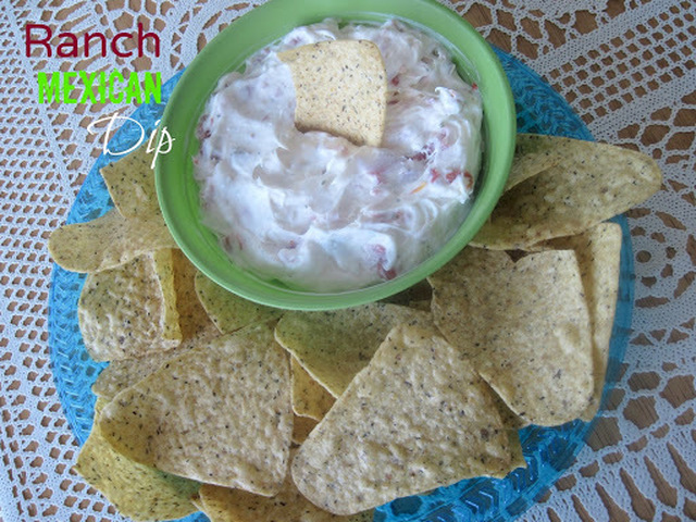 Ranch Mexican Dip {4-ingredients}