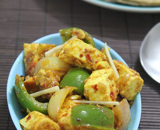 BM #1 - AAE - Day 16 - Paneer Desi Tadkewala | Stir Fried Cottage Cheese
