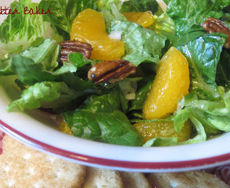 Mandarin Orange Pecan Salad
