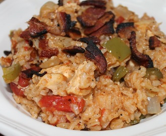 Chicken Jambalaya-Cajun country